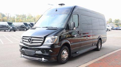 New 2016 Mercedes-Benz Sprinter 3500 Extended Chassis Cab Rear Wheel Drive CARGO VAN