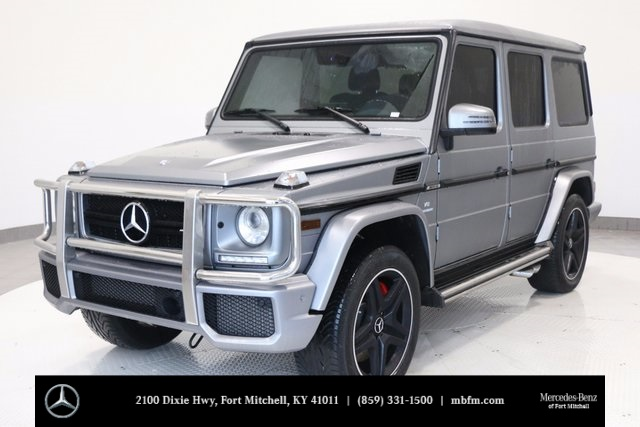 Pre owned 2017 mercedes benz g class g63 amg suv in fort for Pre owned mercedes benz g class